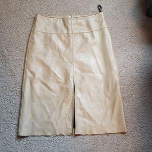 Mettalic gold skirt